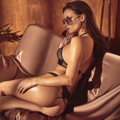 Bracli Vienna tanga med modell